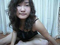 Asiatin mit dicken geilen Titten