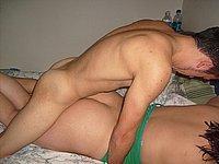 Paar privat beim Poppen