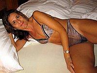 Sch�ne reife Frau privat nackt fotografiert