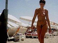 Private Strandbilder - Nacktbaden und Oben Ohne