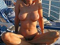 Nackt auf dem Kreuzfahrtschiff - Private Urlaubsbilder