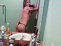 Selbst nackt fotografiert - Geile Mädchen privat