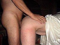Paar privat beim Poppen - Reife gefickte Sperma Muschi