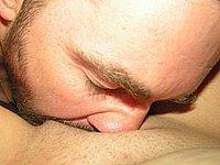 Hausfrau nackt und beim Sex