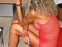 Scharfe reife Blondine - Heisse Nackt Fotos